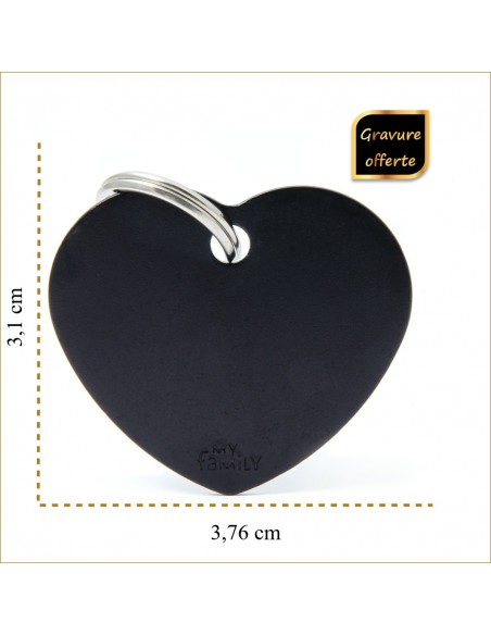 chien-et-chat-taille-medaille-personnalise-noir-coeur