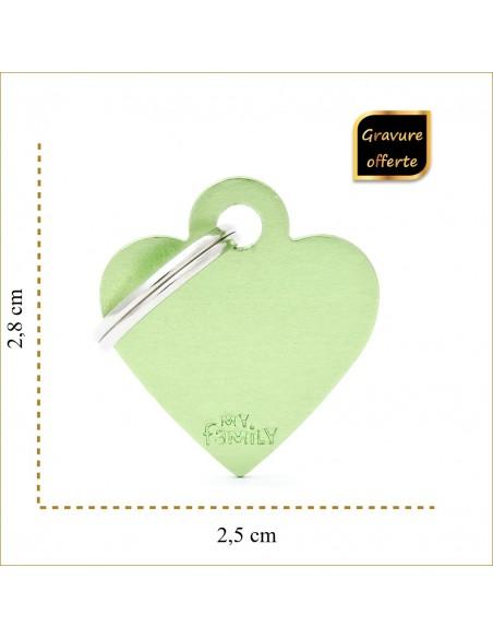 taille-medaille-vert-coeur-a-personnaliser-pour-chien-et-chat