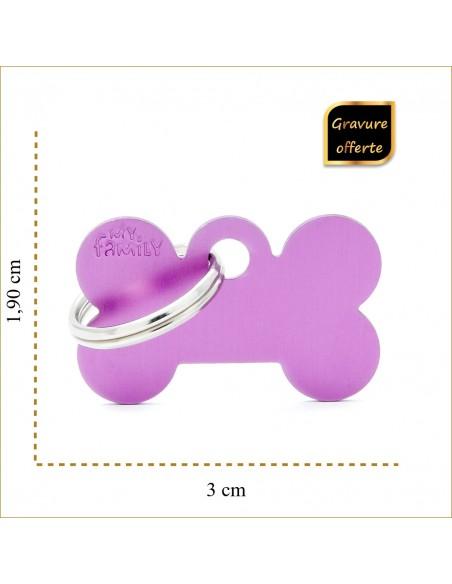 medaille-petit-os-violet-pour-chien-et-chat-taille