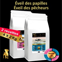 aliments-naturellement-sains-pour-chiots-sans-cereales