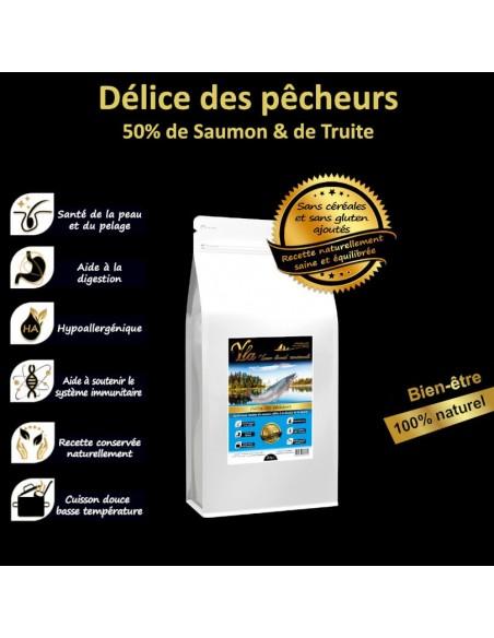 Pack 4 saveurs au choix - 4x2kg - Croquettes pour Chien Toutes races - YLA
