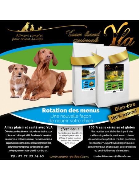 croquettes hypoallergeniques pour chien sensible