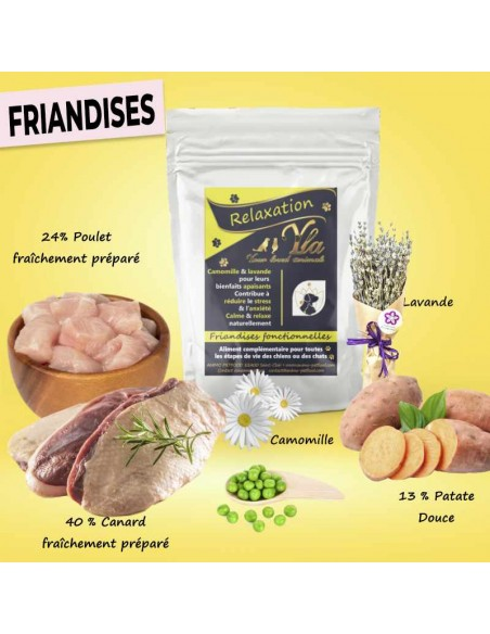 friandises relaxation pour chiot