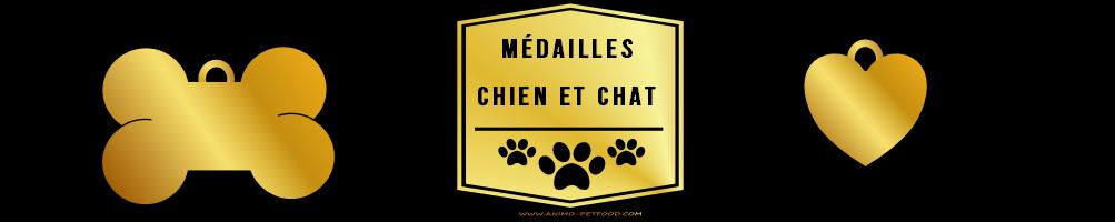 Médailles pour chien et chat à personnaliser