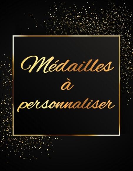 Médailles à personnaliser