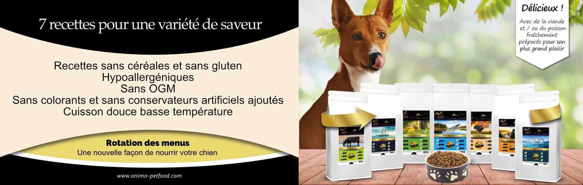 alimentation-sans-cereale-sans-gluten-pour-chien-sensible-avec-intolerances-alimentaires
