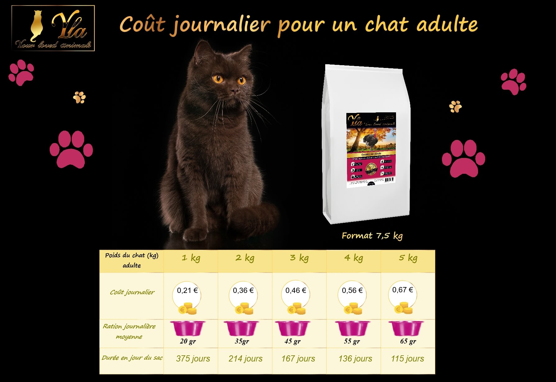 cout-journalier-alimentation-sans-cereale-chat