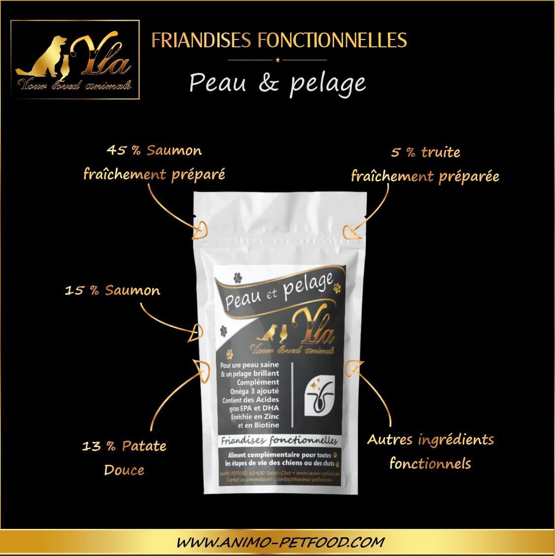 friandises-peau-pelage-skin-coat treat-chien-chat