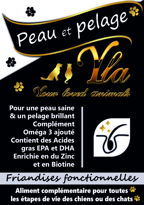 Friandises_Peau-Pelage--Skin & Coat Treat -CHIEN-CHAT