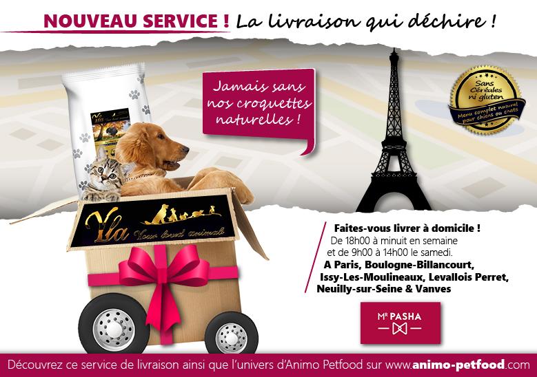 livraison croquette à Paris