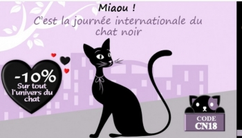 Journée internationale du chat noir - 17 août 2018-
